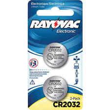 Rayovac Kecr2032-2C 3-Volt Lithium Keyless Entry Battery - 2 Pack - Cr2032 Size
