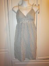 NWOT Perfect 4th Of July Summer Dress Blue & White Stripes by Divided H&M  4