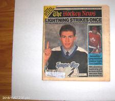 Hockey News 1992 ROMAN HAMRLIK Tampabay Lightning  COVER No. 1 NHL Draft Pick