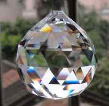 1PCS Crystal Glas Ball Pendel Lampe Prismen Anhänger Regenbogen 30mm Blin