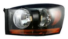 New Replacement Black Headlight Assembly LH / FOR 2006 DODGE RAM TRUCK