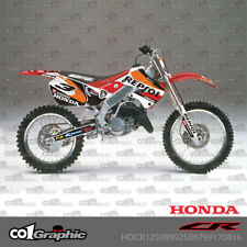 GRAPHICS DECALS STICKERS FULL KIT FOR HONDA CR125R 98-99 CR250R 97-99