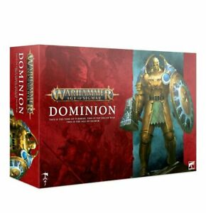 WARHAMMER AGE Of SIGMAR: DOMINION LAUNCH BOX - BRAND NEW AND SEALED