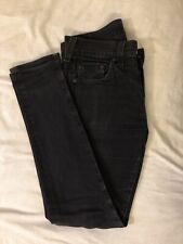 True Religion Mens Rocco Relaxed Skinny Black Jeans 33