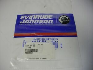 BRP OMC Johnson Evinrude KF-77 ignition key KF series 501592