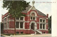 Post Office in Watertown NY Postcard