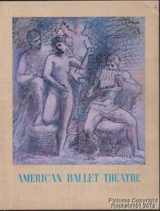 1962-63 American Ballet Theatre Souvenir Program