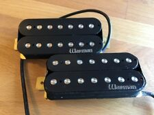 Warman Deadly Sinners, pair of 7 string humbuckers, 2 wire