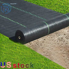 6Ftx300Ft Weed Barrier Fabric Woven Earthmat Ground Cover Landscape Heavy-Duty