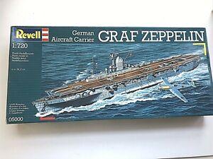 Revell Model Kit 1/720 German Aircraft Carrier Graf Zeppelin 05000