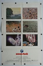"Woodstock 1970 Single Sided Original Movie Poster 27"" x 41"""