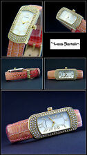 Oblong Women ´S Bracelet Watch Designer Piece Very Beautiful With Stones Pretty