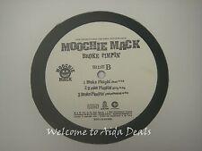 "Moochie Mack,We be on Dat/ Broke Pimpin' LP (VG) 12"""