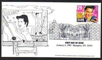 Elvis Presley #2721 Unknown Cachet Memphis Music Cancel Unaddressed  (Lot 272)