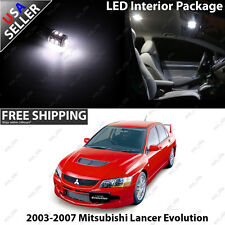 Lancer Evolution White LED Interior Light Bulb Package Set Evo 8 9
