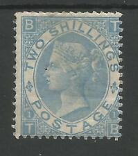 SG 118  THE 1867 2/- DULL BLUE (TB) MOUNTED MINT SCARCE STAMP CAT £4200