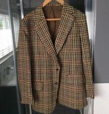 De colección chaqueta de tweed de cuadros Hacking ecuestre 42/44 regular por Bliss Inglaterra