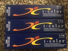 3 ISO I Color Permanent Conditioning Creme Color 9NA Very Light Natural Ash B