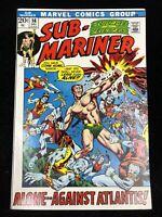 "Sub-Mariner #56, VF/NM 9.0, ""Alone.. Against Atlantis"""