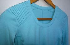 NWOT Lululemon Star Runner Long Sleeve Yoga Running Shirt Angel Blue Size 4