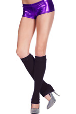 Leg Warmers Acrylic Black Footless Knee High New Women's Hosiery 5724