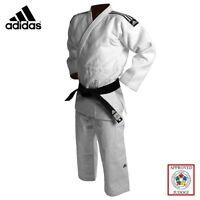 Adidas Judo Suit Champion 2 Gi 750g White Premium Slim Fit IJF Approved Uniform