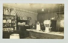 Sioux Rapids IOWA RP c1910 INTERIOR BUTCHER SHOP Scale nr Spencer Cherokee