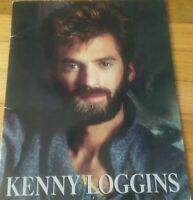 Kenny Loggins concert program 1985 Vox Humana world tour