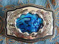 Boucles de ceinture bleu pour homme