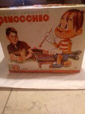 "RARE PINOCCHIO ""1962 ROSCO/VIDEOCRAFT INTERNATIONAL"" TON TOY IN ORIGINAL BOX"