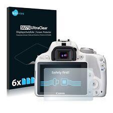 6x Savvies Films protection Ecran pour Canon EOS 100d Protecteur