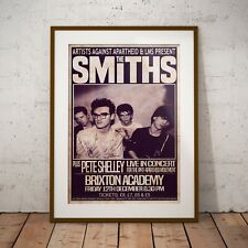 More details for the smiths 1986 the final concert poster framed or 3 print options exclusive