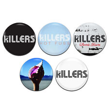 5x The Killers Alternative Rock Indie Band 25mm / 1 Inch D Pin Button Badges