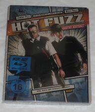 Hot Fuzz Reel Heroes Blu Ray Steelbook New Germany German Import Limited Sealed