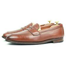 Alden Marron Mocassins Cuir Chaussures Hommes UK 11 US 11.5 EU 45.5