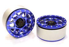 C26385BLUE Integy Billet B9 Spoke Off-Road 1.9(2)Beadlock Wheel for 1/10 Crawler