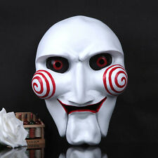 Scary Saw Moive Resin Mask Horror Halloween Prop Fancy Dress Party Costume