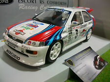 FORD ESCORT RS COSWORTH MARTINI 1000 RALLYE 1995 au 1/18 UT Models 39550 voiture