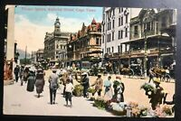 1915 Capetown South Africa Picture Postcard Censored Cover To Lisbon Portugal