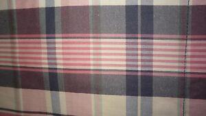 Ralph Lauren Plaid Standard Pillow Sham Lot of 2 NWT