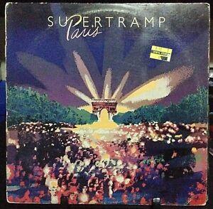 SUPERTRAMP Paris Live Double Album Released 1979 Vinyl/Record  Collection USA