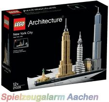 LEGO ARCHITECTURE  21028 New York City Empire State Flat Iron Liberty Stat N1/16