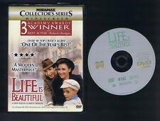 Life Is Beautiful Coll. Edition (Dvd) Roberto Benigni Very Good