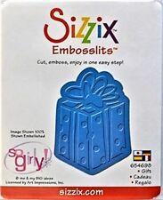 SIZZIX EMBOSSLITS - 654698 - CUT & EMBOSS DIE - PRESENT / GIFT