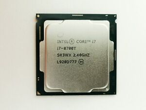 Intel Core i7-8700T SR3WX 2.40GHz Processor