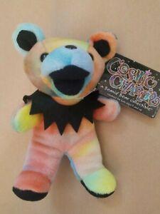"Grateful Dead COSMIC CHARLIE Plush 6"" Bear Beanie Baby - 1/8/66 - THE FILLMORE"