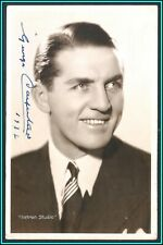 GEORGES CARPENTIER - Original Vintage BOX AUTOGRAPH - Hand Signed Postcard 1932