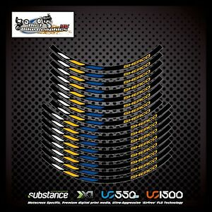 Sherco 18 21 Inch Factory Rim Tapes Yellow Decal Sticker Trials (713)