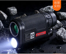 Qanliiy 8x32 Mini New Night Vision HD Monocular Telescopes Multifunctional
