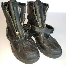 Polo Ralph Lauren Sport Boys 4.5 Boots Leather Womens size 6
